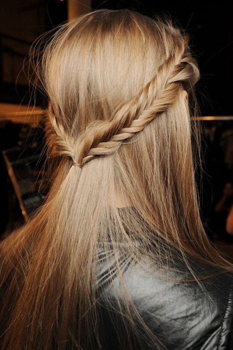 Superb two sides Braid Hairstyle