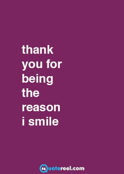 Thank You For Being Appreciation Quotes