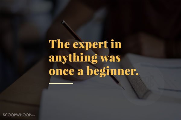 The Expert In Anything Was Confidence Quotes