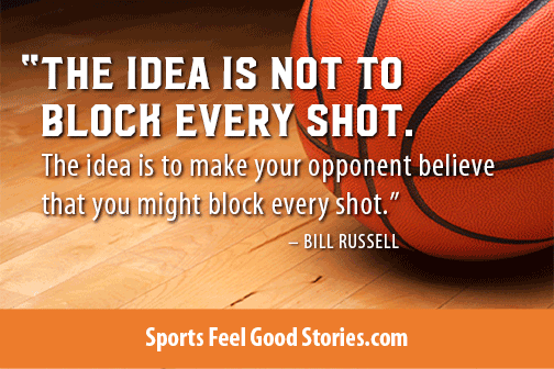 The Idea Is Not To Basketball Quotes