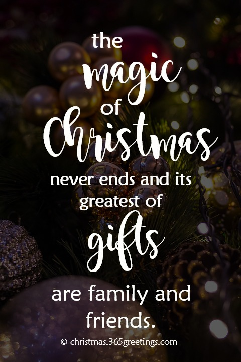 The Magic Of Christmas Christmas Quotes