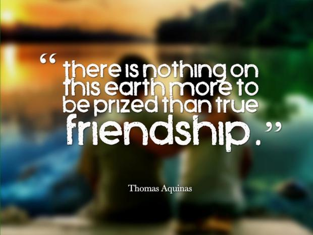 There Is Nothing On True Friendship Quotes