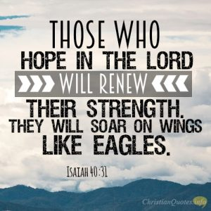 Those Who Hope In The Christian Quotes