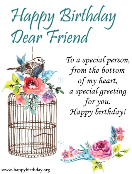 To A Special Person Birthday Quotes