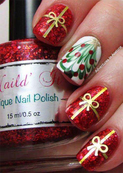 Trending gift Christmas nail art