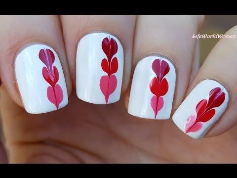 Trending mug Heart nail art