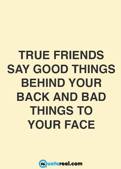 True Friends Say Good True Friendship Quotes