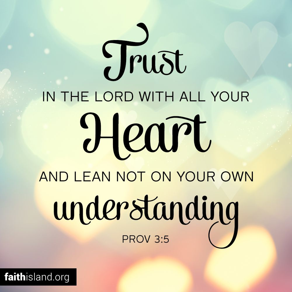 Trust In The Lord With Bible Quotes