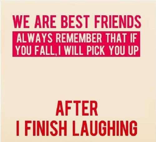 We Are Best Friends Always Funny Best Friend Quotes