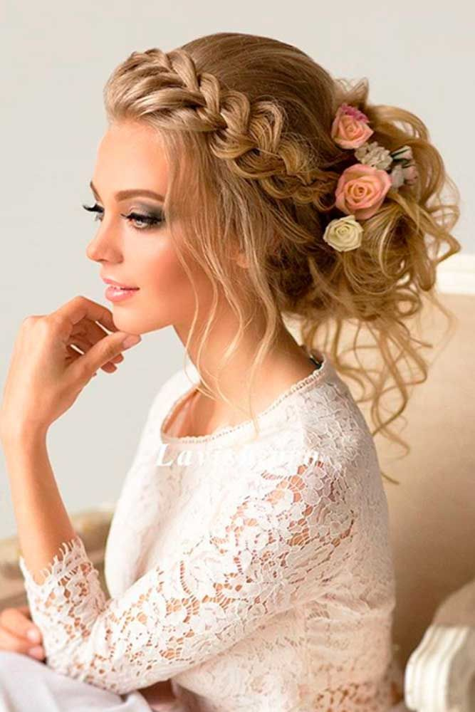 Wedding braid Bun Hairstyle