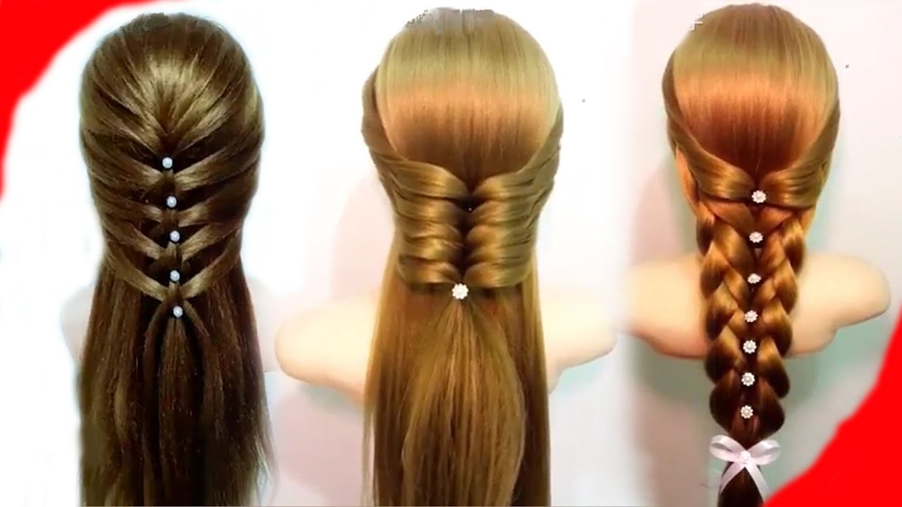 Wedding look designs Braid Hairstyle