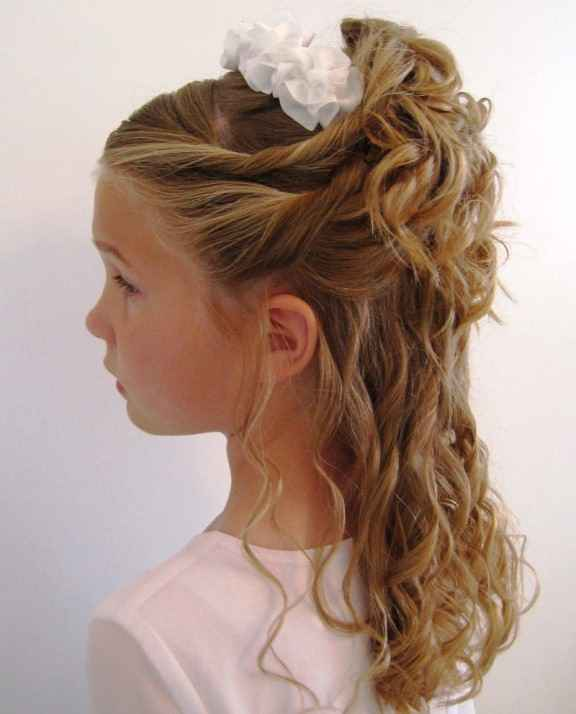 Wedding style for party Kids Hairstyle