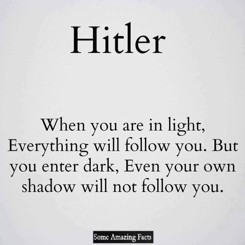 When You Are In Light Amazing Quotes