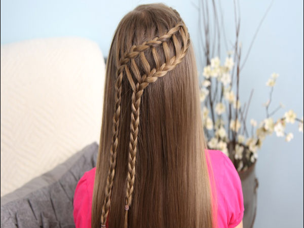 Wonderful straight design Braids Hair style
