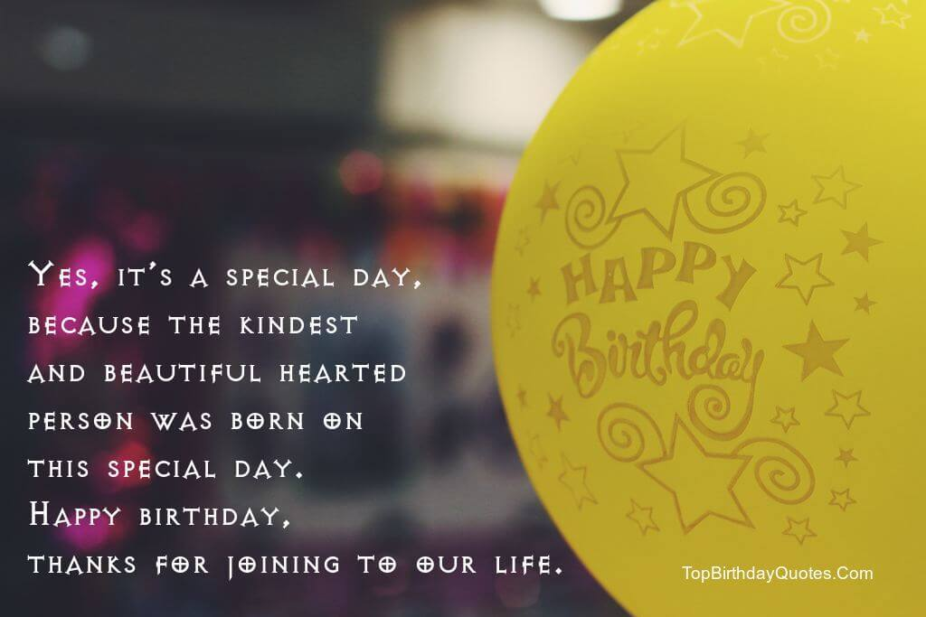 Yes It's A Special Day Best Friend Birthday Quotes