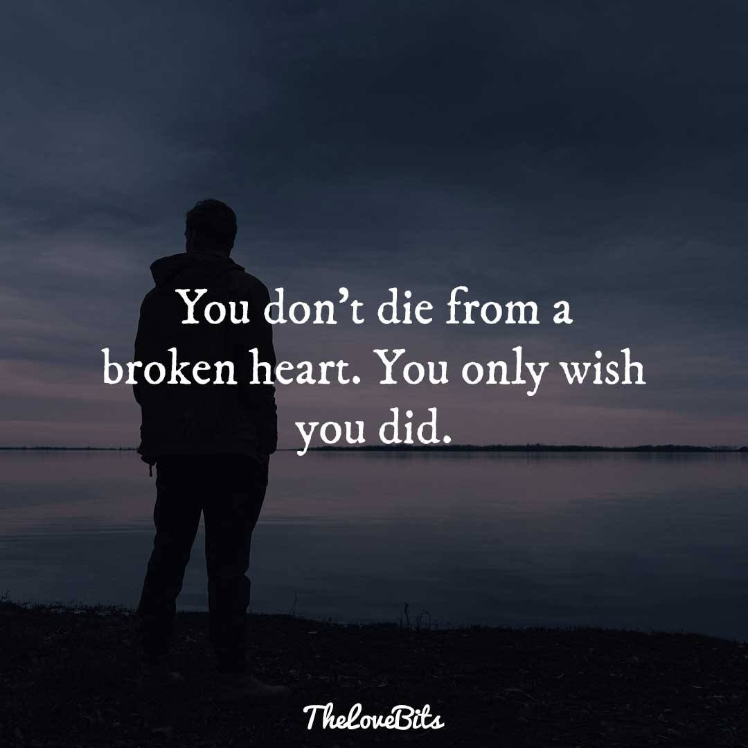 You Don't Die From Broken Hearted Quotes