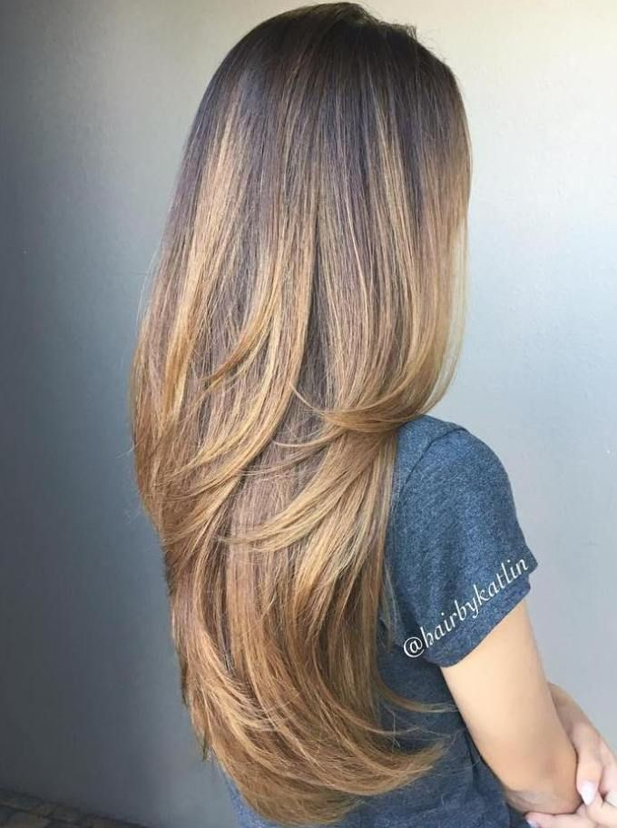 Young Girlish long Layer Hairstyle