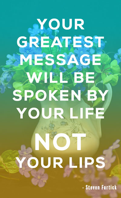 Your Greatest Message Will Be Christian Quotes