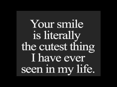Your Smile Is Literally Crush Quotes