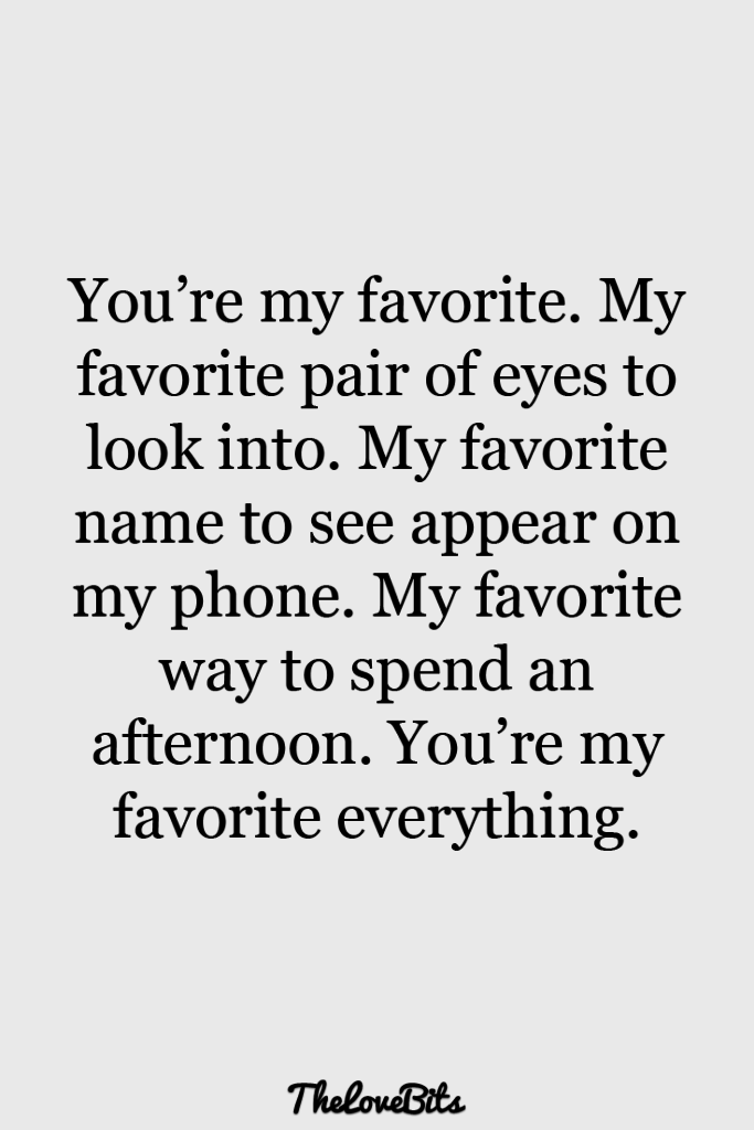 You're My Favorite Pair Boyfriend Quotes