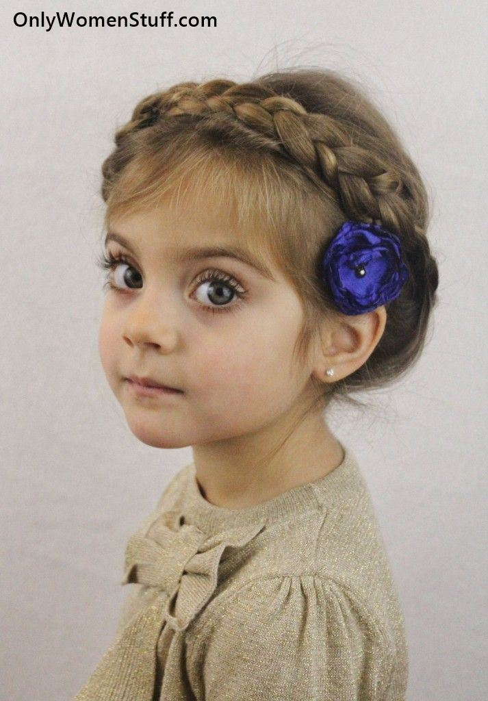 pretty braid style Kids Hairstyle