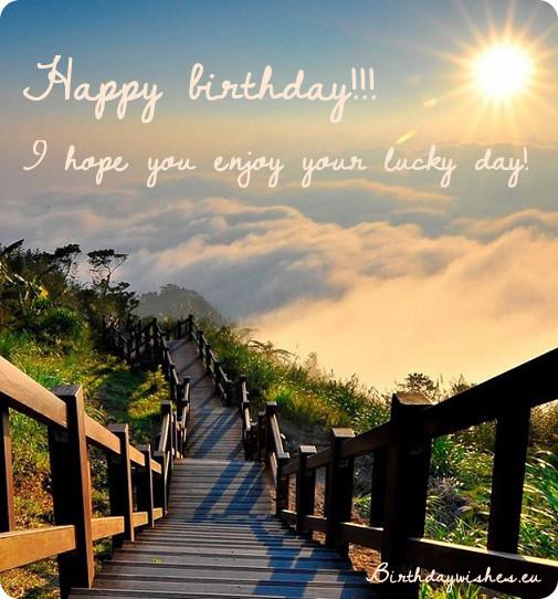 Amazing sun wishes happy birthday to lovely Godson