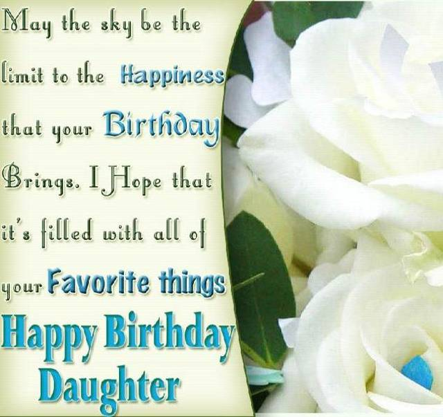 Amazing Wish Messages For Dear Daughter On Her Birthday From Mom