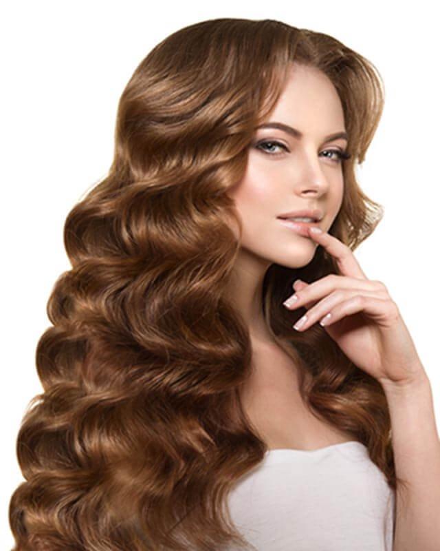 Amazing zigzag style Long Hairstyle
