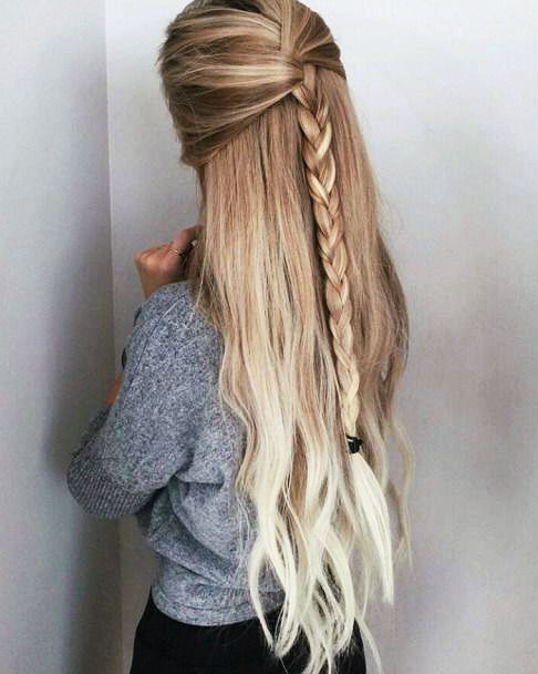 Awesome braid style for college girl Long Hairstyle
