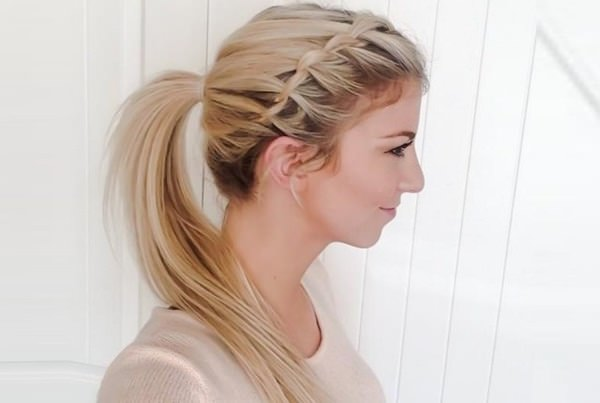 Awesome style for girls Ponytail hairstyle