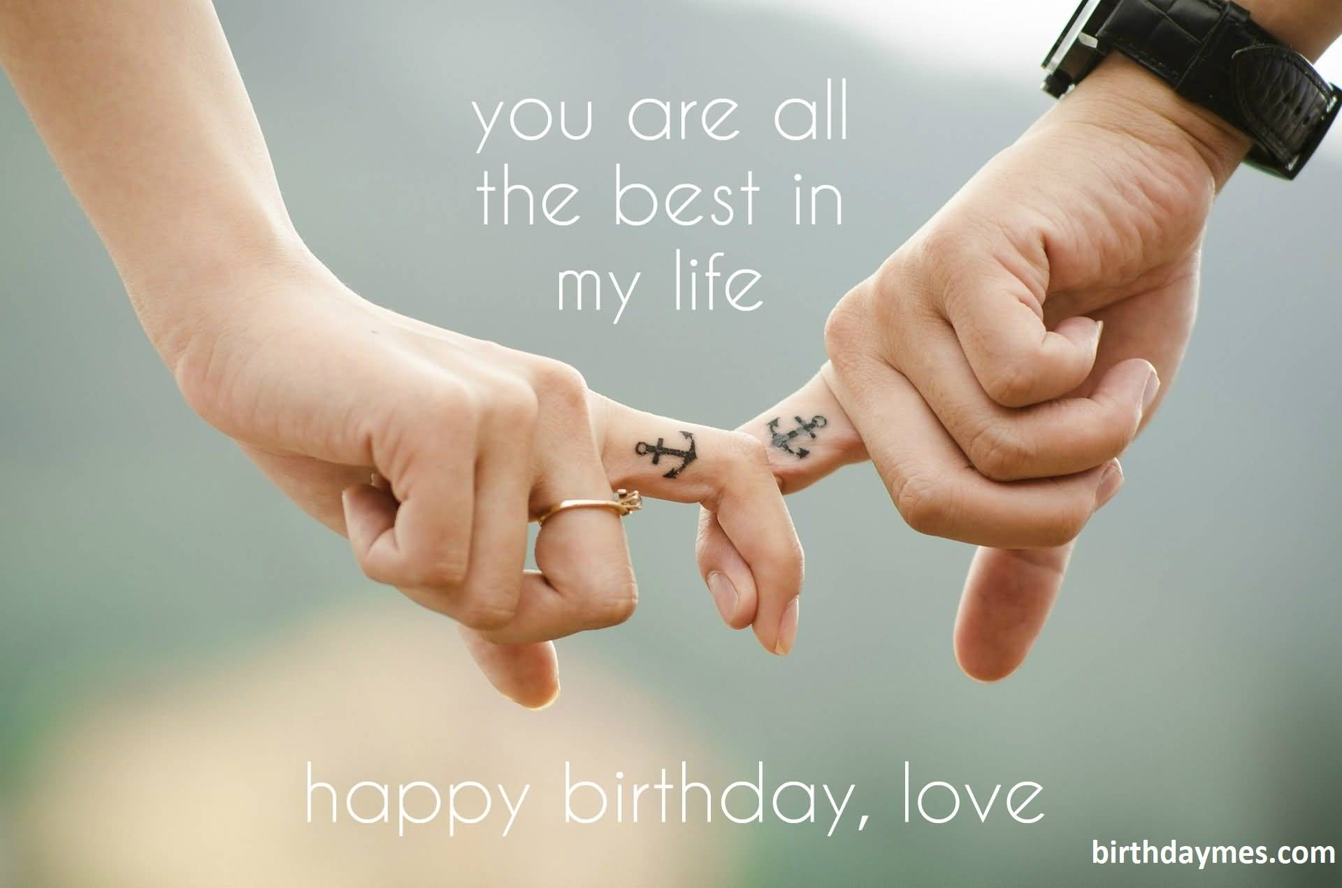 Beautiful birthday images wishes to my love Husband from wife