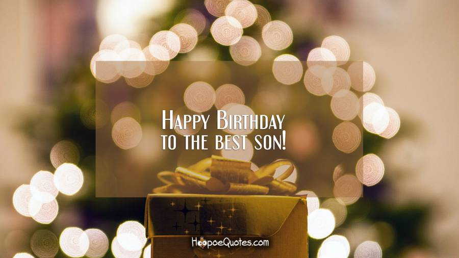 Beautiful birthday wallpapers for dear Son from others