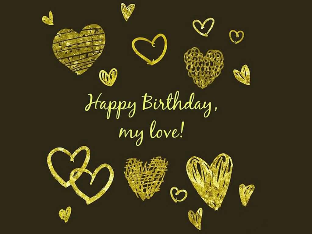 Beautiful happy birthday card wallpaper for dear Boyfriend