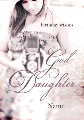 Best Birthday wishes for Goddaughter