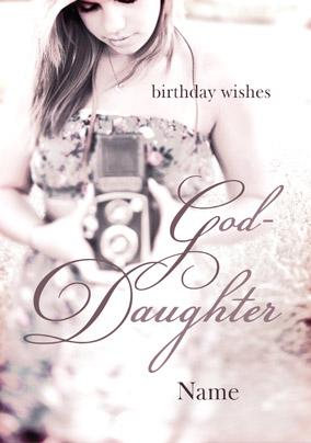 Best Birthday wishes for Goddaughter