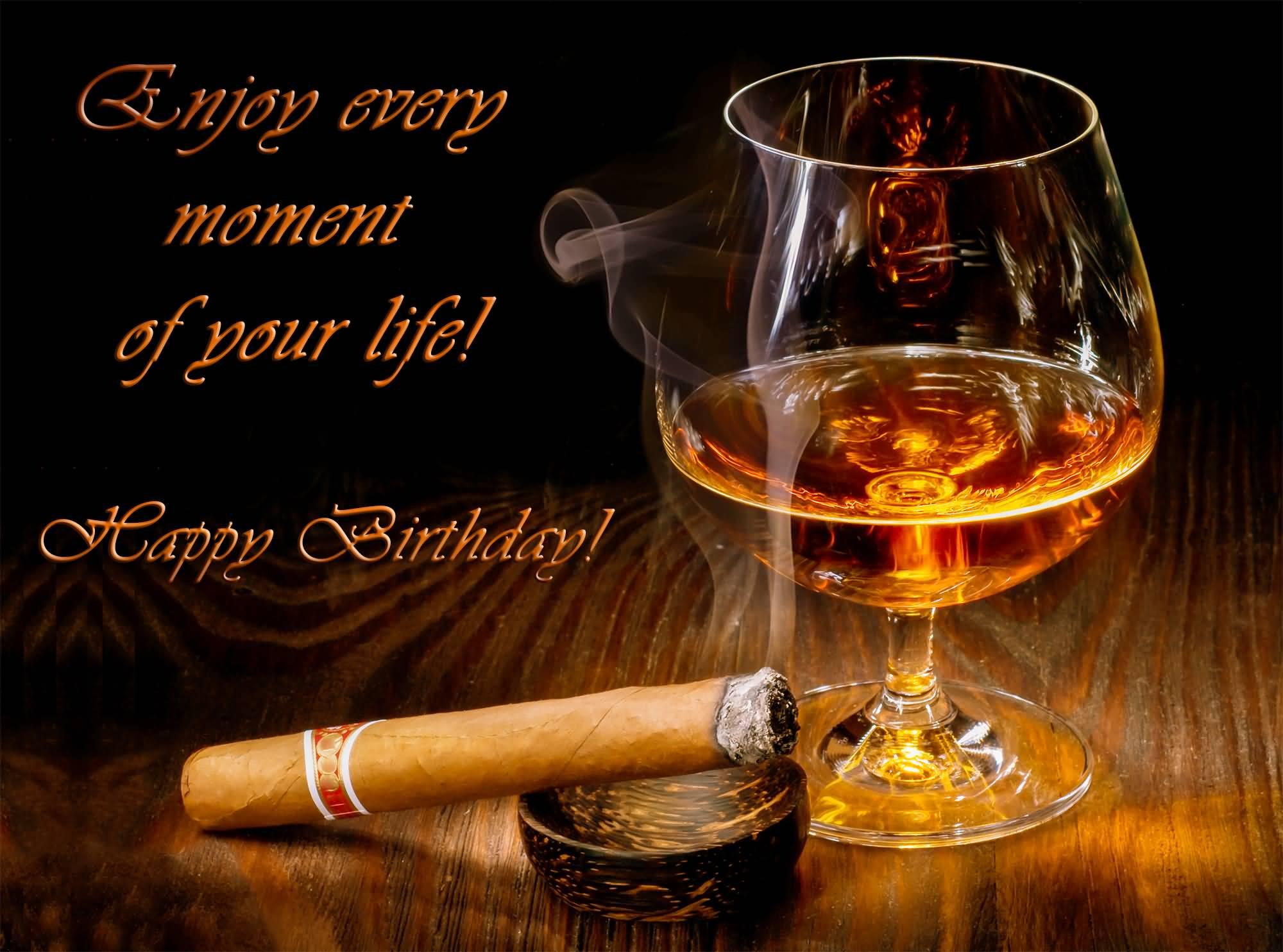 Best brandy birthday wish for Godfather