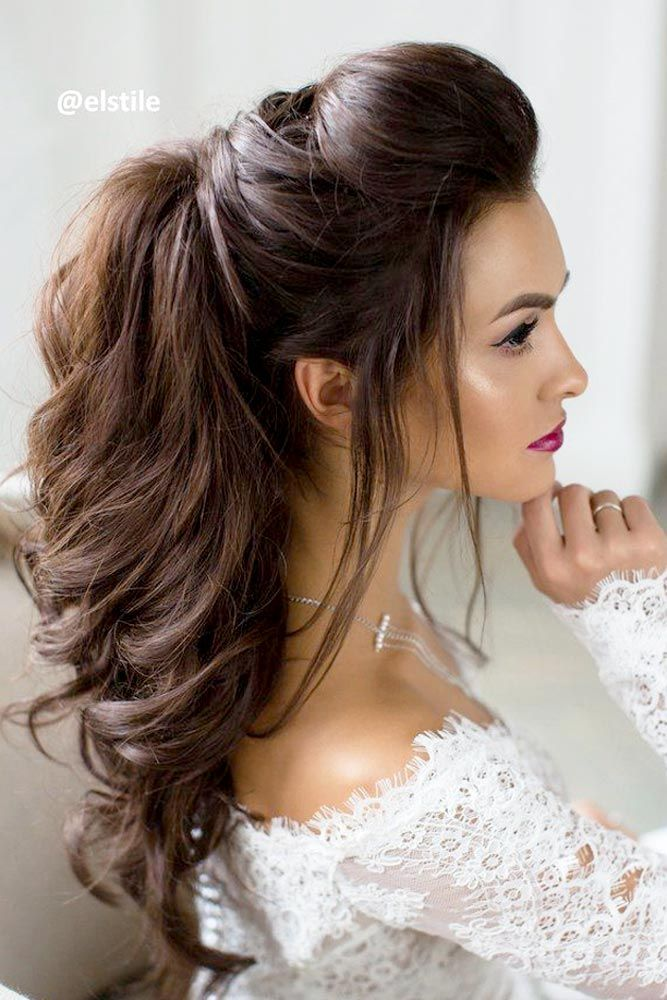 Best wedding style for bridal Long Hairstyle