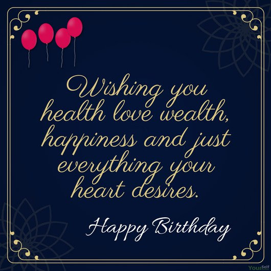 Best wishing greeting card for Godparents happy birthday