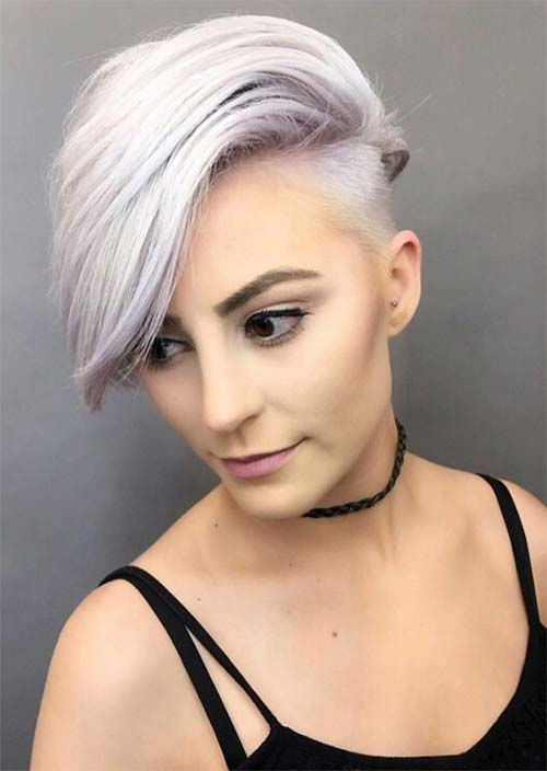 Cool style for teenage Short Hairstyle