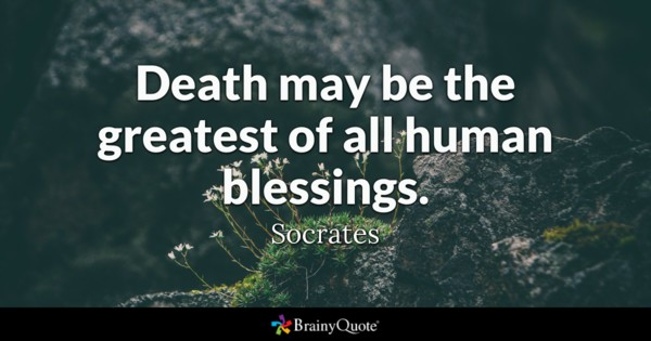 Death May Be The Death Quotes