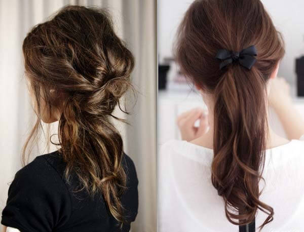 Easy styles to routine use Ponytail hairstyle