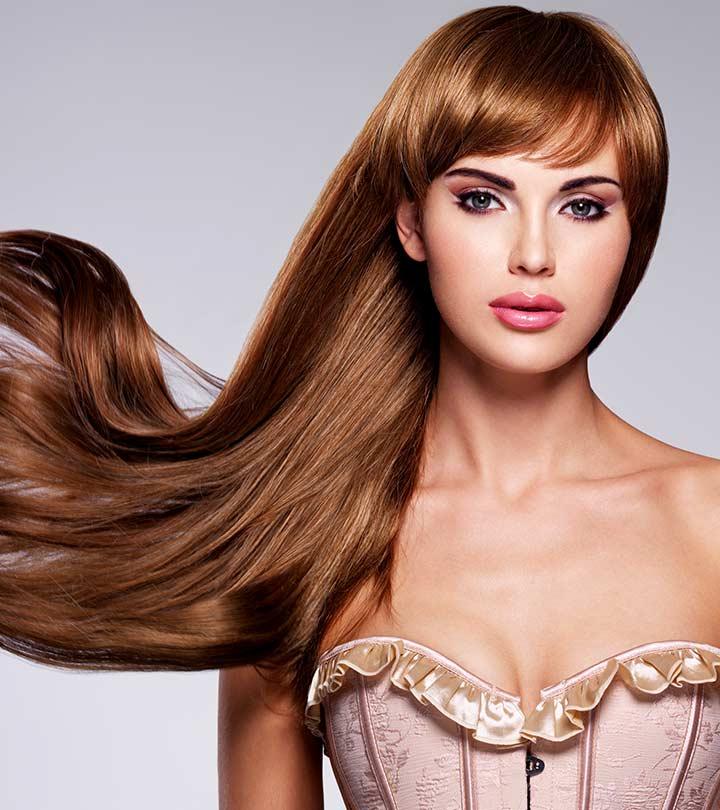 Elegant girlish style Long Hairstyle