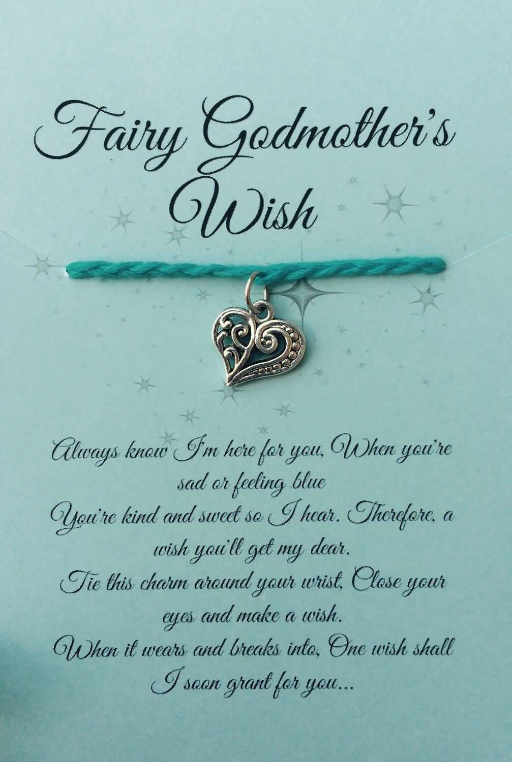 Fairy Godmother wish and blessing