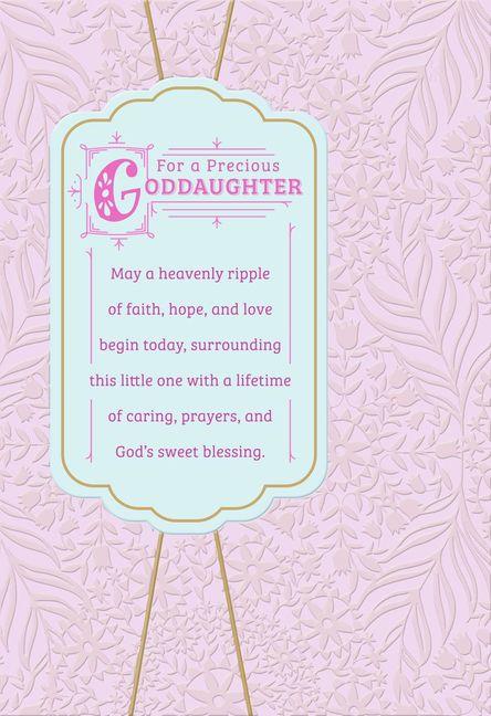 For a precious Goddaughter sweet bleesing