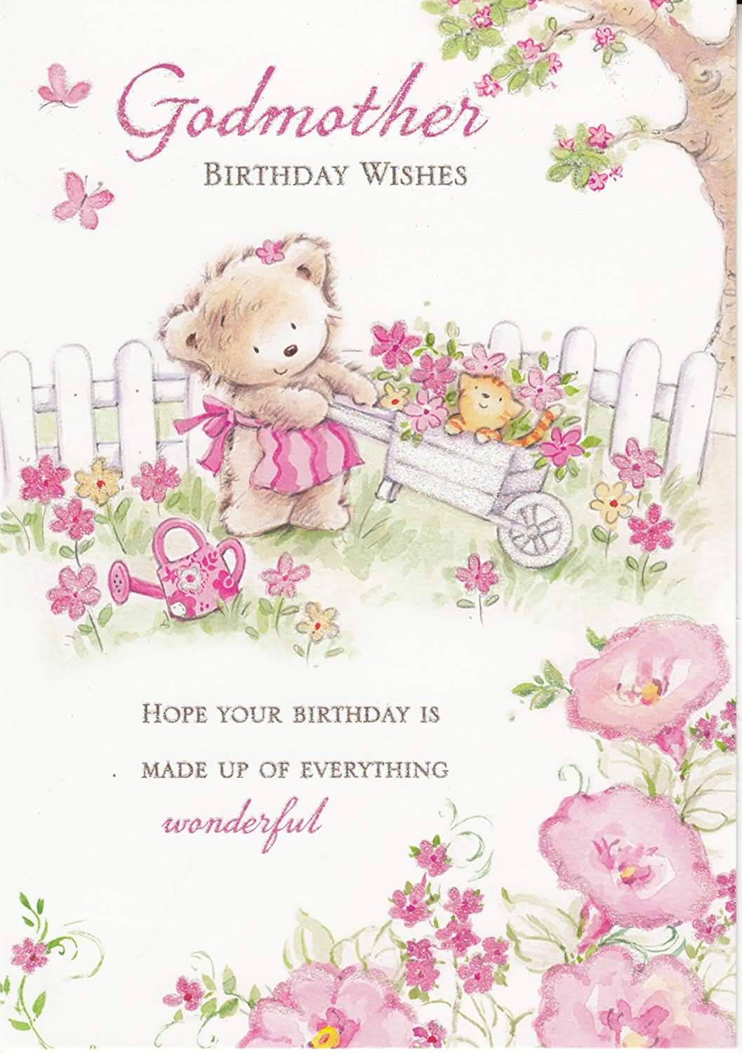 Godmother birthday wishes with hope your birthday is wonderful
