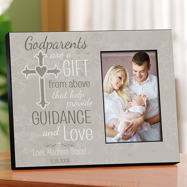 Godparents are a gift from above message images