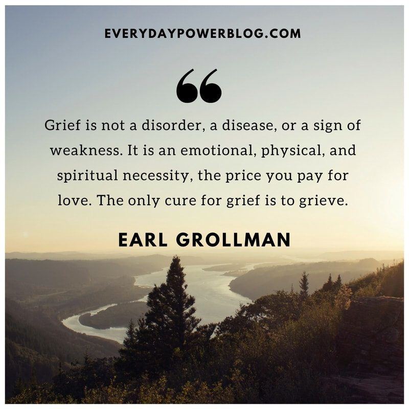 Grief Is Not A Disorder Death Quotes