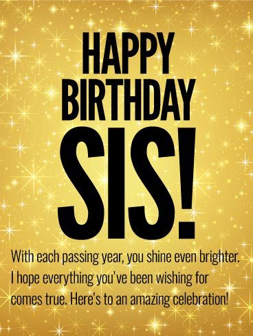 Happy birthday cute Sister wishes & message