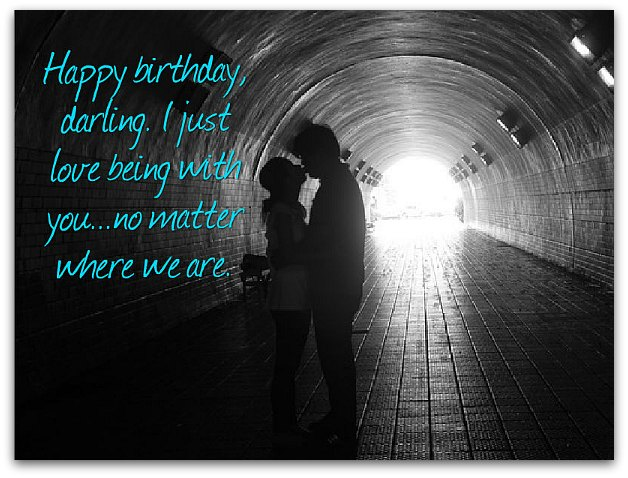 Happy birthday darling for Girlfriend birthday messages