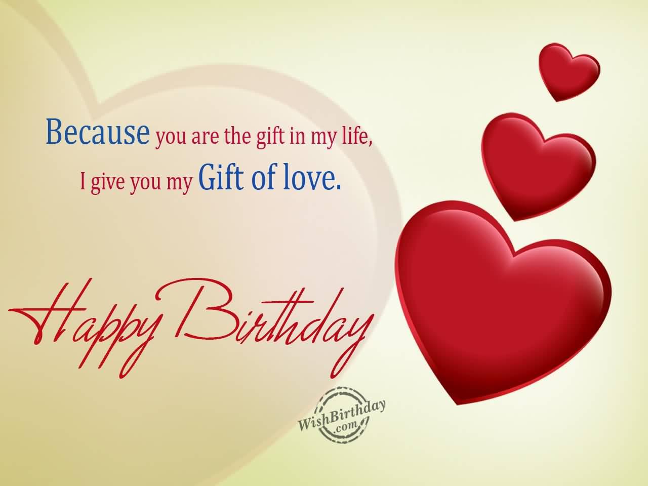Happy birthday dear Boyfriend wishes message from girlfriend